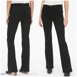 NWT GAP perfect boot black jeans